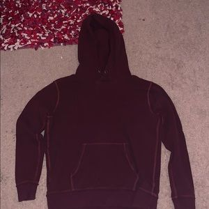 Abercrombie and Fitch Burgundy Sweatshirt